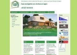 Snapshot del sito La Casa Verde